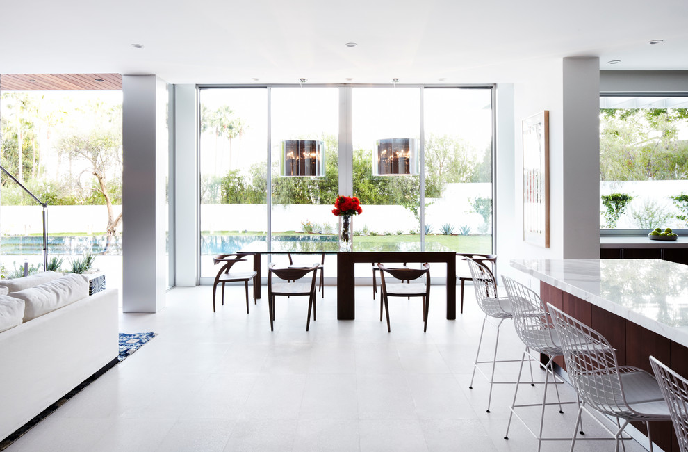 Khmer Interior Dining Room Modern Architecture Estate in Cambodia