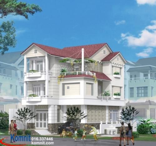 Khmer Exterior Villa VG-0011 in Cambodia