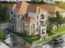 Khmer Exterior Villa Villa-EC62 in Cambodia