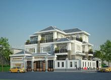 Khmer Exterior Villa Villa-EC66 in Cambodia