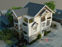 Khmer Exterior Villa Villa-EC67 in Cambodia