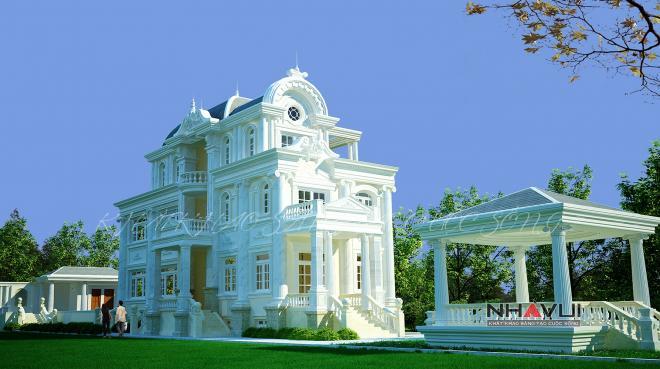 Khmer Exterior Villa Villa-EC72 in Cambodia