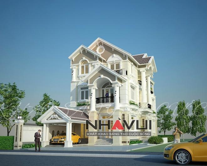 Khmer Exterior Villa Villa-EC73 in Cambodia