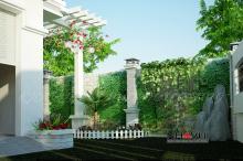 Khmer Exterior Villa Villa-EC74 in Cambodia