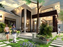 Khmer Exterior Villa Villa-EC75 in Cambodia