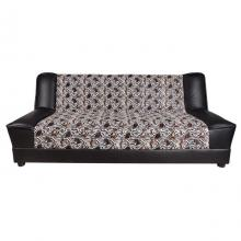 Furniture Sofas 3-Seater Reclining Sofa Paris   Black Horse