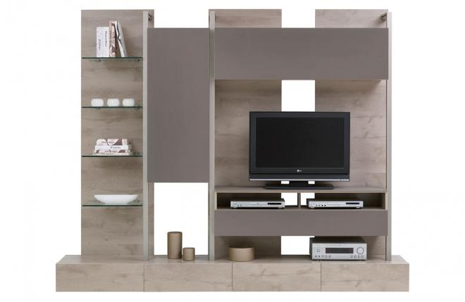 Khmer Furniture TV Units Configuration H in Cambodia