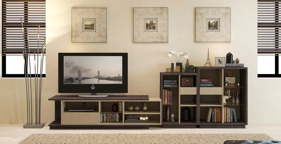 Khmer Furniture TV Units Glary TVC in Cambodia