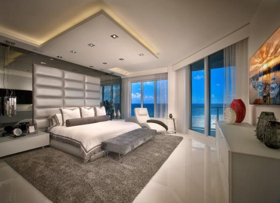Khmer Interior Bedroom Contemporary Private Residence Palm Beach County in Cambodia