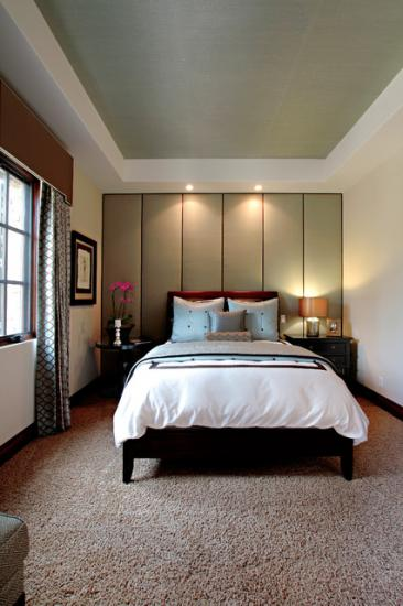 Khmer Interior Bedroom Covenant Hills in Cambodia