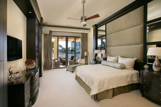 Khmer Interior Bedroom Private Residence in Southwest Florida in Cambodia