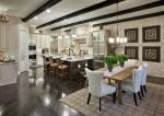 Interior Kitchen Enclave at Longview