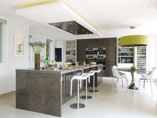 Khmer Interior Kitchen Essex Mansion in Cambodia