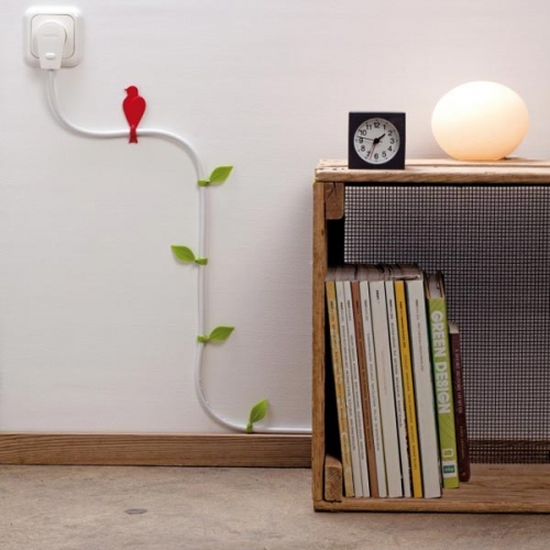 Khmer Interior Living Room Decoration Idea to  Hide  the Wires in Your Home in Cambodia