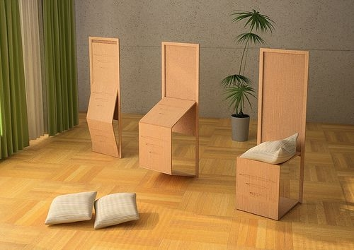 Khmer Interior Living Room Folding Screen Chairs - Biombo in Cambodia