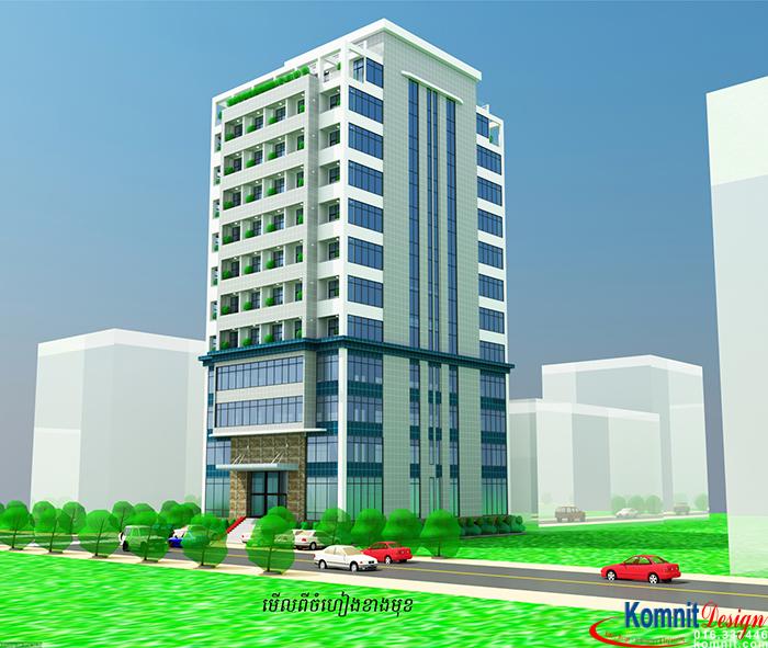 Khmer Exterior Apartment AP-K001 in Cambodia