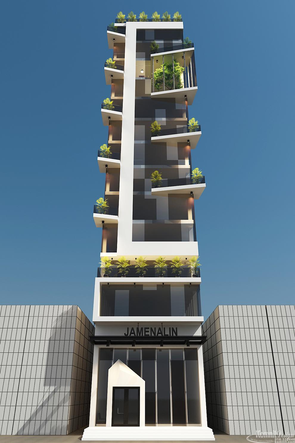 Khmer Exterior Apartment Apartment-EP6 in Cambodia