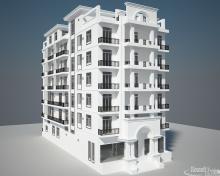 Khmer Exterior Apartment Apartment-EP8 in Cambodia