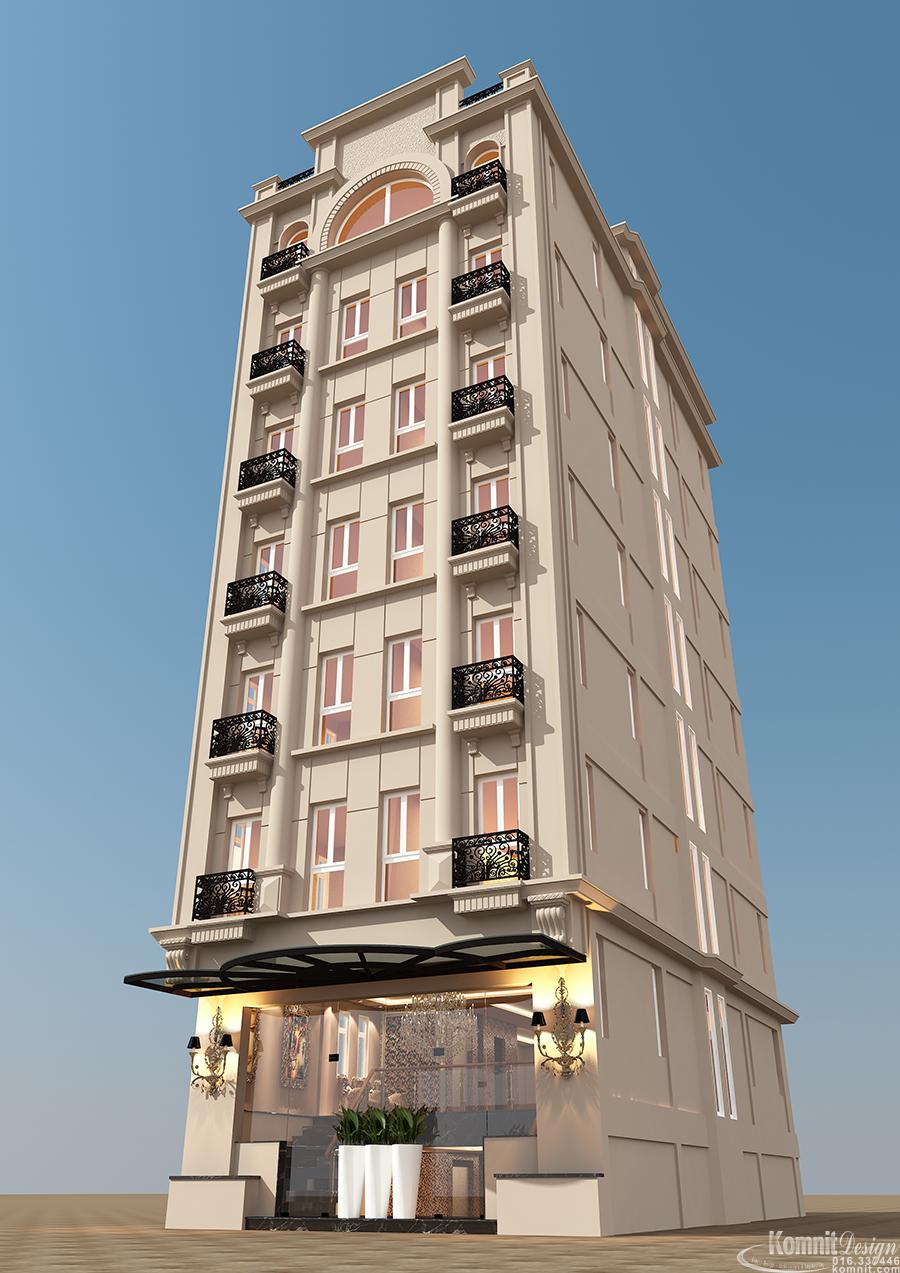 Khmer Exterior Hotel HT-K004 in Cambodia