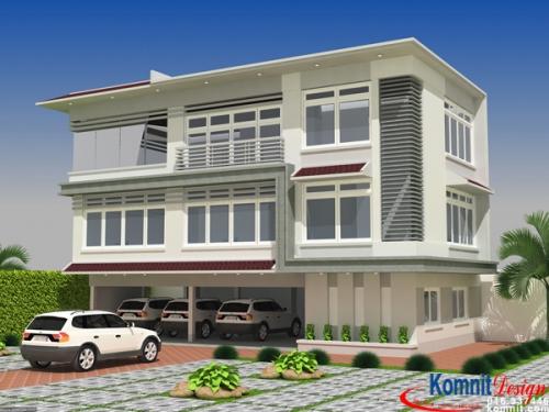 Khmer Exterior House VT-K003 in Cambodia