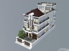 Khmer Exterior House VT-K008 in Cambodia