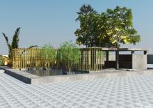 Exterior Outdoor Landscape-K3