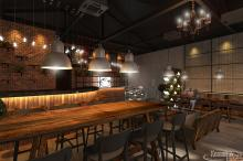 Khmer Interior Restaurant Restaurant-EP8 in Cambodia