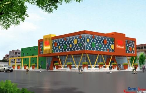 Khmer Exterior Shop SH-K3 in Cambodia