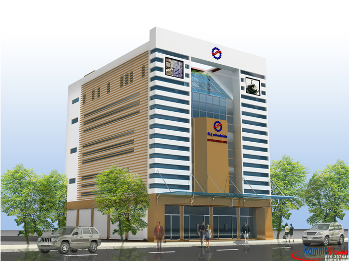Khmer Exterior Showroom SR-K2 in Cambodia