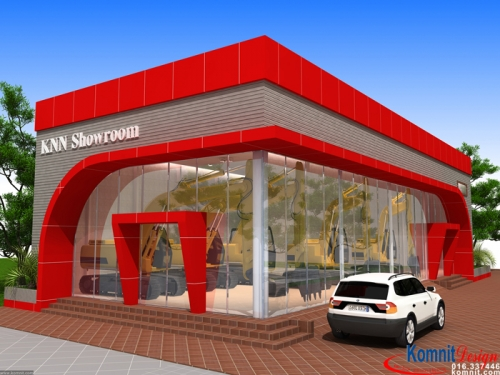 Khmer Exterior Showroom SR-K3 in Cambodia