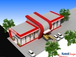 Khmer Exterior Showroom SR-K5 in Cambodia