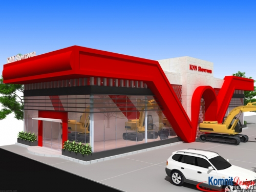 Khmer Exterior Showroom SR-K6 in Cambodia