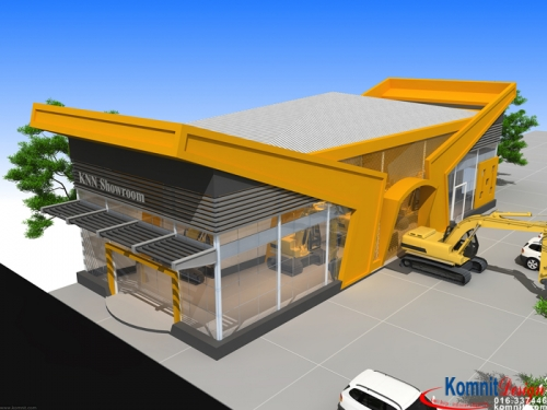 Khmer Exterior Showroom SR-K9 in Cambodia