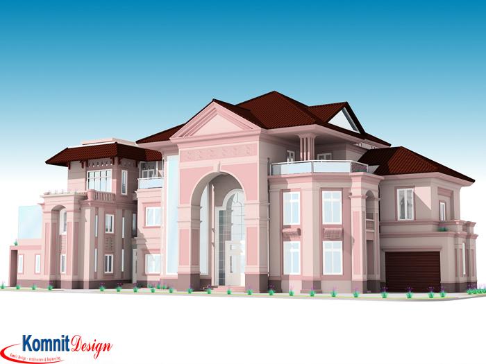 Khmer Exterior Villa VG-K001 in Cambodia