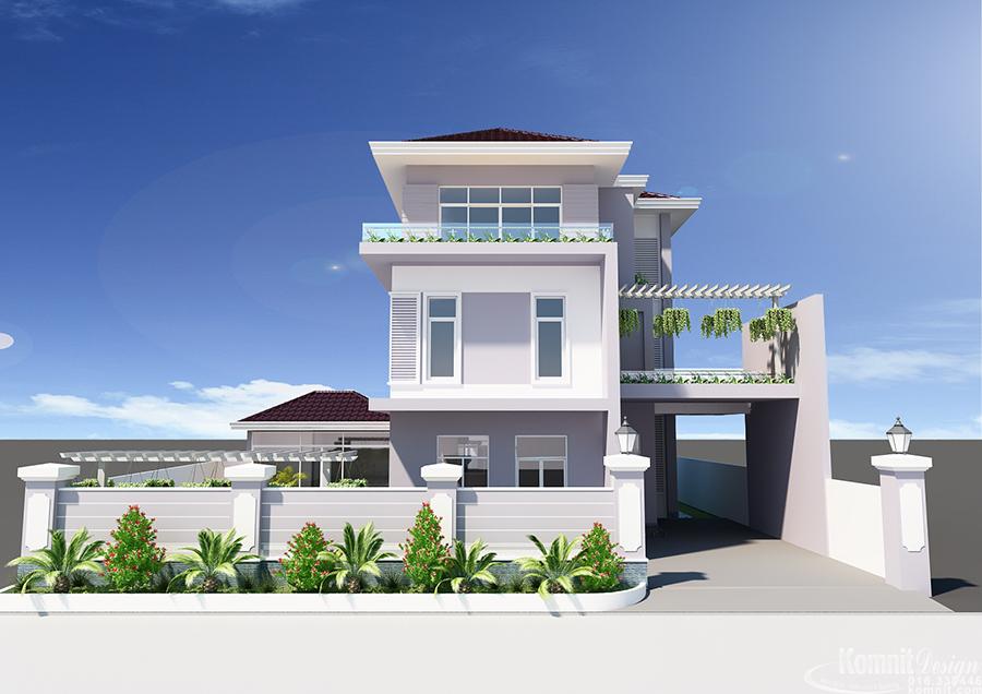 Khmer Exterior Villa VG-K012 in Cambodia