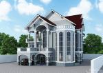 Khmer Exterior Villa VG-K013 in Cambodia