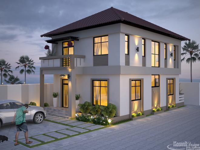 Khmer Exterior Villa Villa-EP14 in Cambodia
