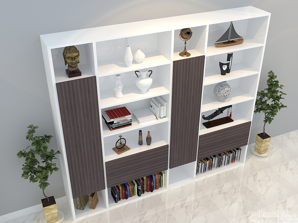 Khmer Furniture Bookcases Bookcases-FP8 in Cambodia