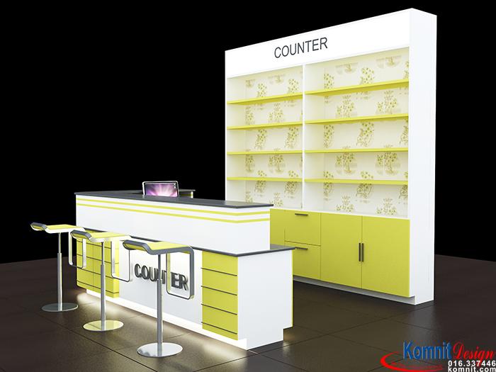 Khmer Furniture Counter Counter-K001 in Cambodia