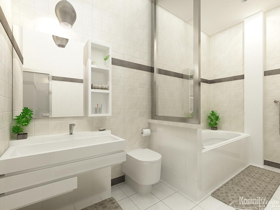 Khmer Interior Bathroom BAR-K017 in Cambodia