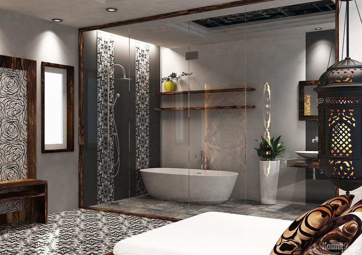 Khmer Interior Bathroom Bathroom-IP20 in Cambodia