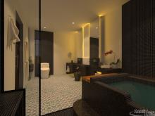 Interior Bathroom Primium Singal Bed Hotel-EP13