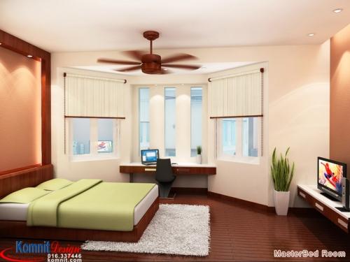 Khmer Interior Bedroom BR-K018 in Cambodia