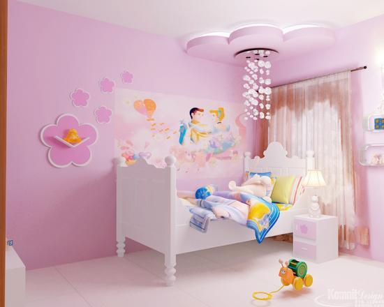 Khmer Interior Bedroom BR-K037 in Cambodia