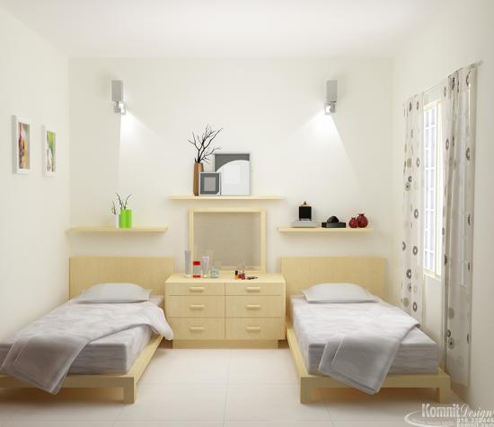 Khmer Interior Bedroom BR-K038 in Cambodia