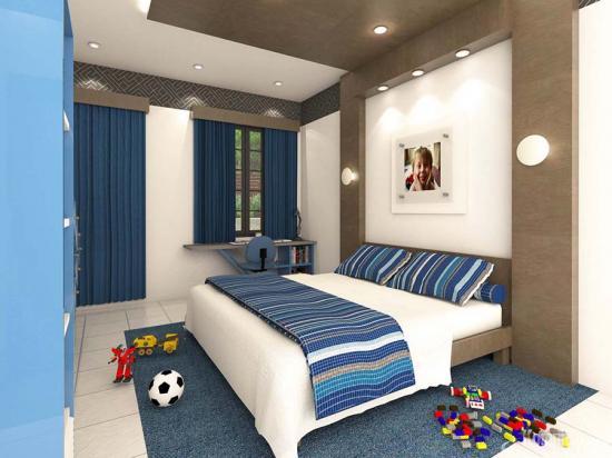 Khmer Interior Bedroom BR-K039 in Cambodia