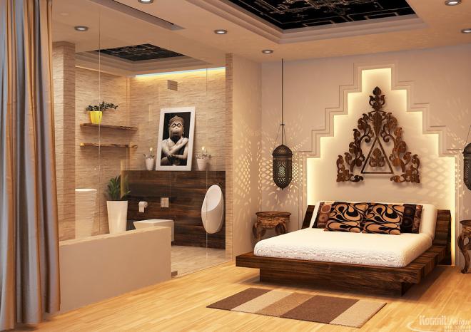 Khmer Interior Bedroom Bedroom-IP50 in Cambodia