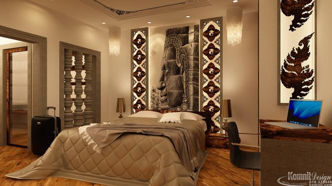 Khmer Interior Bedroom Bedroom-IP53 in Cambodia
