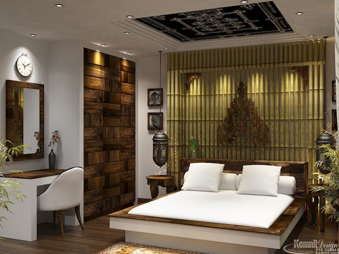 Khmer Interior Bedroom Bedroom-IP54 in Cambodia