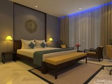 Khmer Interior Bedroom Singal Bed of Hotel-EP13 in Cambodia